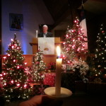 Rev. J. Keith Cupples Christmas Eve candlelight services
